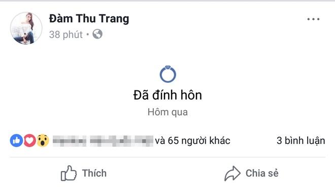 Cuong Do La va Dam Thu Trang dong loat chia se 'da dinh hon' hinh anh 2