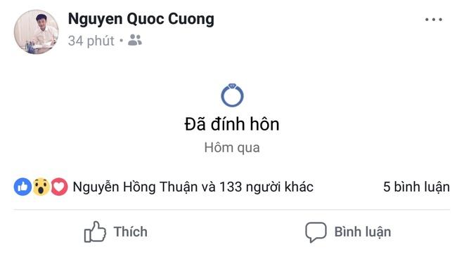 Cuong Do La va Dam Thu Trang dong loat chia se 'da dinh hon' hinh anh 1