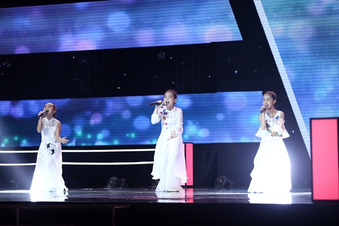 The Voice Kids: Huong Tram hat rock cung tro cung hinh anh 10
