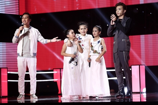 The Voice Kids: Huong Tram hat rock cung tro cung hinh anh 11