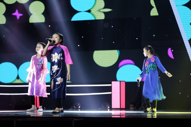 The Voice Kids: Huong Tram hat rock cung tro cung hinh anh 4