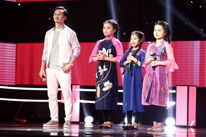 The Voice Kids: Huong Tram hat rock cung tro cung hinh anh 5