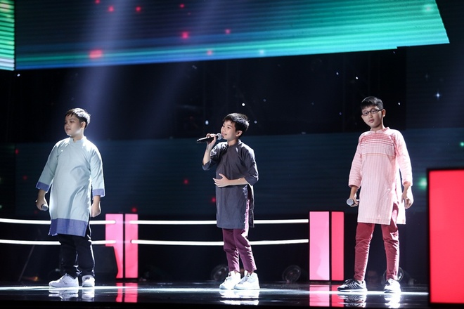 The Voice Kids: Huong Tram hat rock cung tro cung hinh anh 8