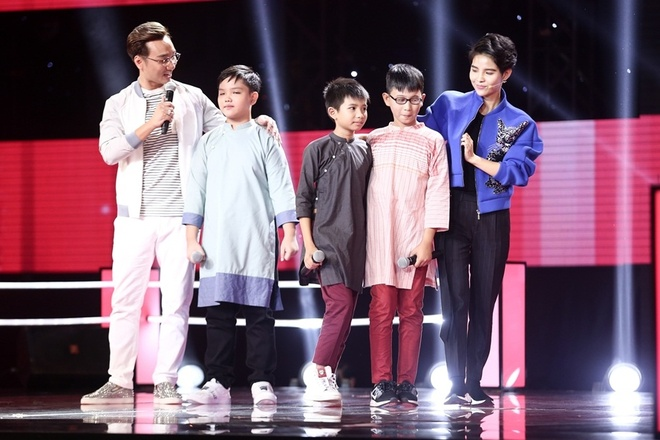 The Voice Kids: Huong Tram hat rock cung tro cung hinh anh 9