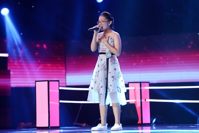The Voice Kids: Huong Tram hat rock cung tro cung hinh anh 7