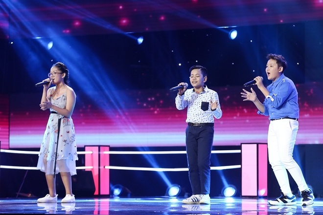 The Voice Kids: Huong Tram hat rock cung tro cung hinh anh 6