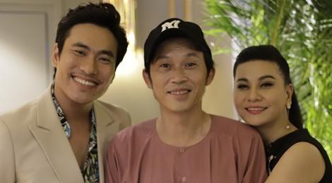 Hoai Linh dong vien Kieu Minh Tuan lam live show sau 10 nam chat vat hinh anh