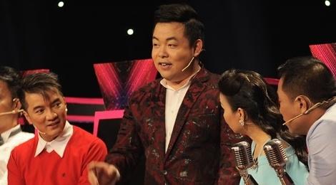 Cam Ly 'che' ngoai hinh cua Quang Le de gianh giat thi sinh hinh anh