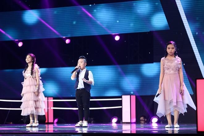 Hoc tro Vu Cat Tuong hat bolero tren san khau The Voice Kids hinh anh 6