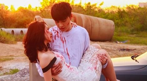 Noo Phuoc Thinh, Jun Vu co tao hinh bi thuong trong MV moi hinh anh
