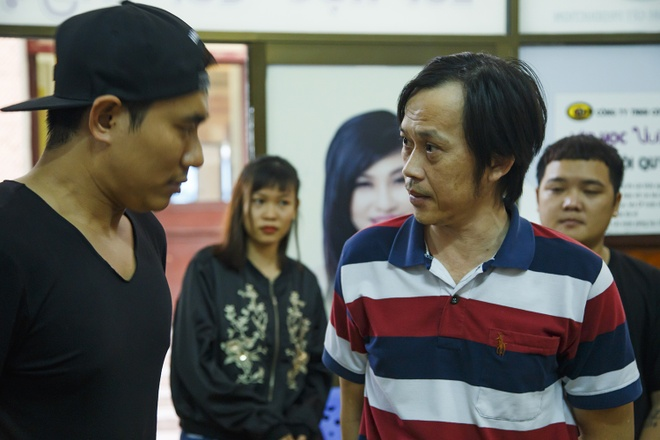 NSND Ngoc Giau, NSUT Hoai Linh tap luyen cho live show Kieu Minh Tuan hinh anh 10