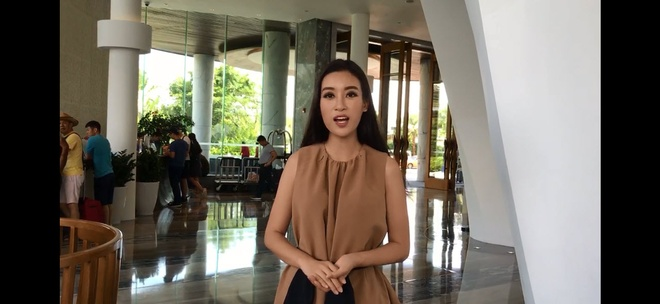 Do My Linh gui loi chao doc gia Zing truoc chung ket Miss World hinh anh