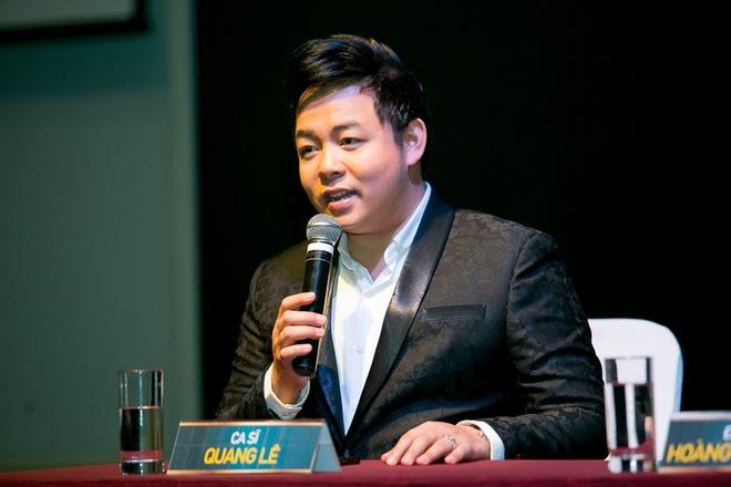 Quang Le moi dan sao nhieu the he trong live show rieng tai Viet Nam hinh anh 1