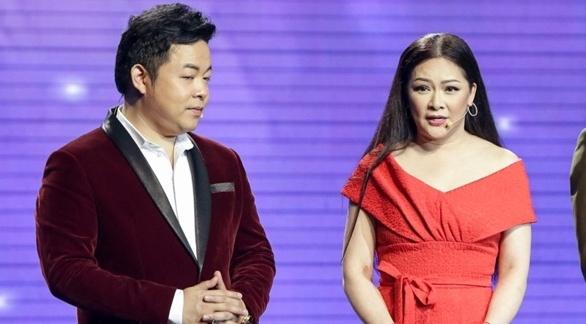 Nhu Quynh lam nung van khong thang noi Quang Le o game show hinh anh