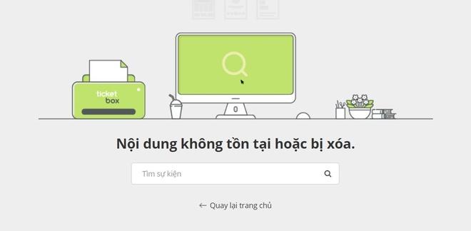 Ha Anh Tuan vua cong bo dem nhac, website ban ve bi sap vi qua tai hinh anh