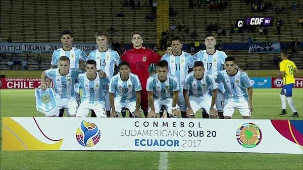 Chan dung 6 cau thu U20 Argentina anh 1
