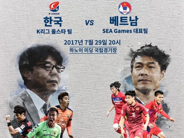 Ve tran U22 Viet Nam gap Sieu sao K.League co gia tu 100.000 dong hinh anh