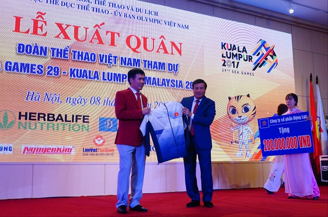 Gianh HCV SEA Games, VDV nhan 10 trieu tien mat ngay tai san hinh anh 1