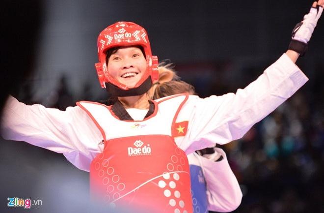 Tinh yeu bong chay cua nu vo si taekwondo 3 lan vo dich SEA Games hinh anh 1