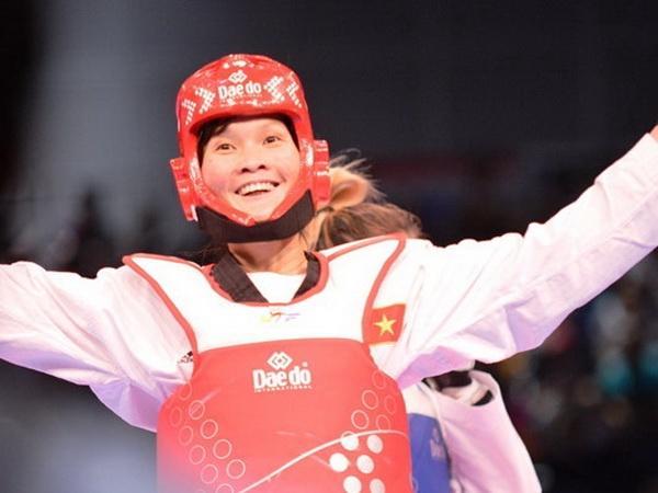 Tinh yeu bong chay cua nu vo si taekwondo 3 lan vo dich SEA Games hinh anh