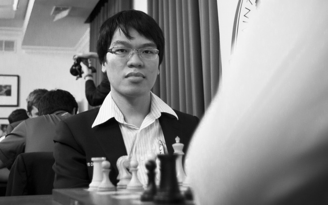 Le Quang Liem chia tay Cup the gioi hinh anh 1
