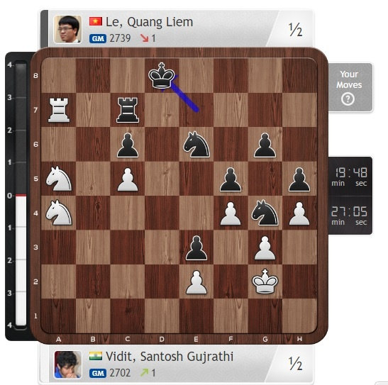 Le Quang Liem chia tay Cup the gioi hinh anh 2