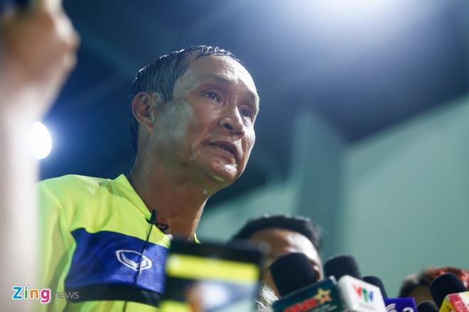 HLV Mai Duc Chung: 'DT Campuchia bay gio khong de bat nat' hinh anh 1