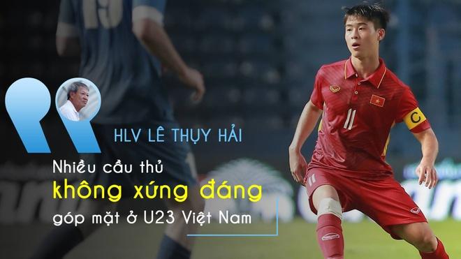 HLV Le Thuy Hai: Nhieu cau thu U23 Viet Nam khong xung dang gop mat hinh anh