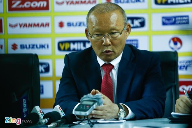 HLV Park Hang-seo so lo bai truoc U23 Han Quoc anh 1