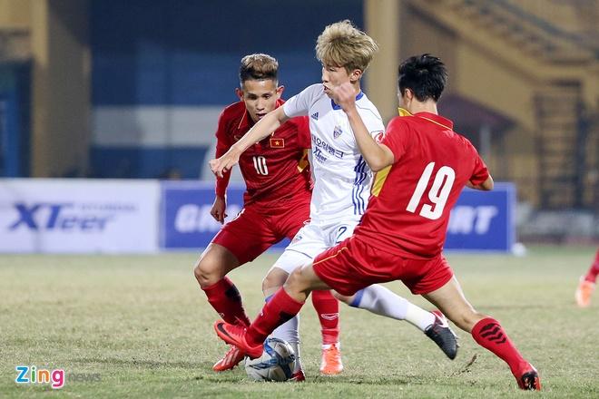 Cong Phuong tit ngoi, U23 Viet Nam thua sat nut CLB Han Quoc hinh anh 3