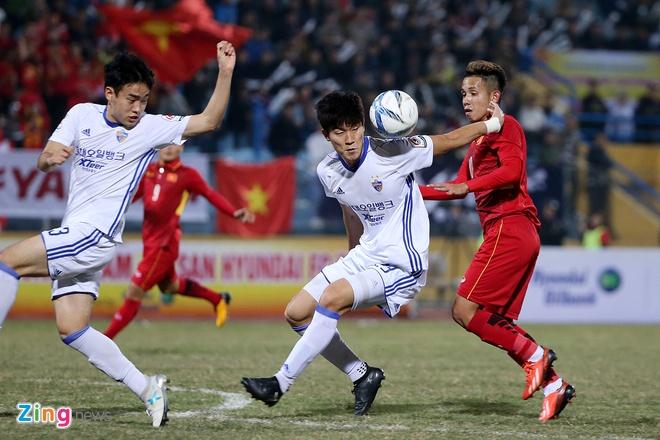 Cong Phuong tit ngoi, U23 Viet Nam thua sat nut CLB Han Quoc hinh anh 9
