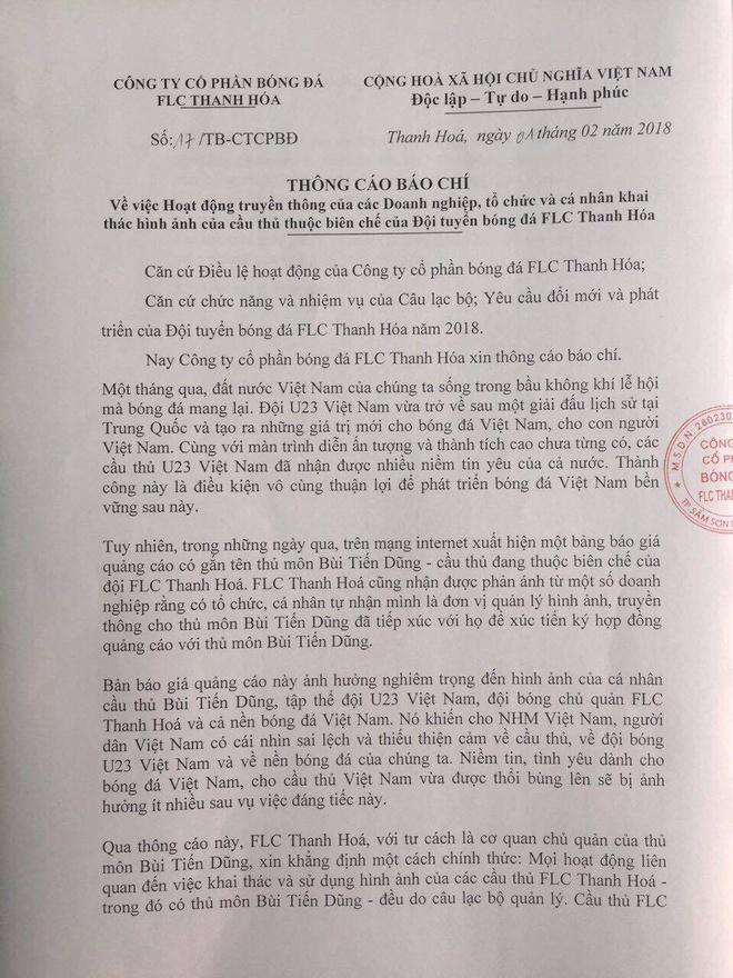 Thanh Hoa se kien nhung cong ty su dung trai phep hinh anh Tien Dung hinh anh 2