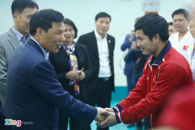 Bo truong lay U23 Viet Nam lam guong cho cac doi tuyen du ASIAD hinh anh 2