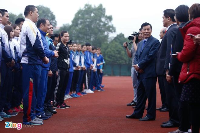 Bo truong lay U23 Viet Nam lam guong cho cac doi tuyen du ASIAD hinh anh 3