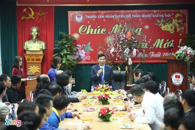 Bo truong lay U23 Viet Nam lam guong cho cac doi tuyen du ASIAD hinh anh 8
