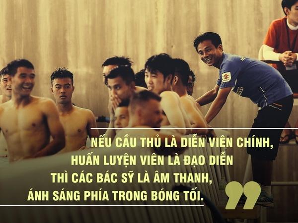 Bac si U23 Viet Nam: Toi bao con rang bo khong can dung giua san khau hinh anh