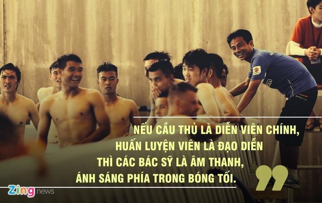 Bac si U23 Viet Nam: Toi bao con rang bo khong can dung giua san khau hinh anh 3