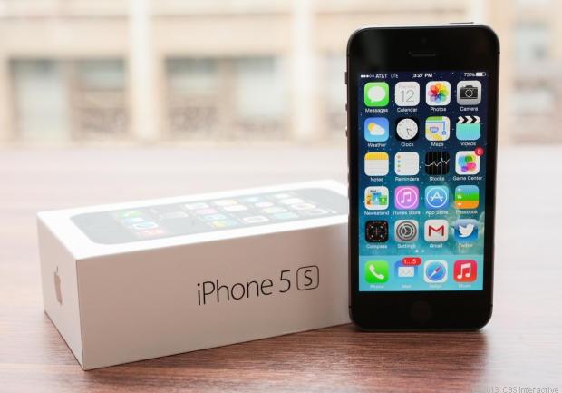 iPhone 5S vuot Galaxy S4 tren thi truong toan cau hinh anh