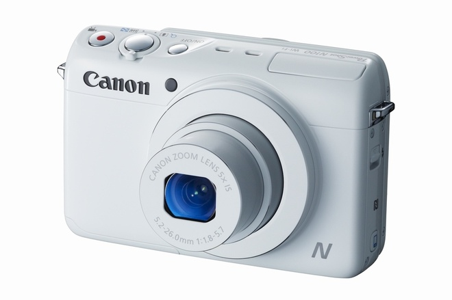 Canon ra mat N100 co 2 camera, ket noi Wi-Fi va NFC hinh anh