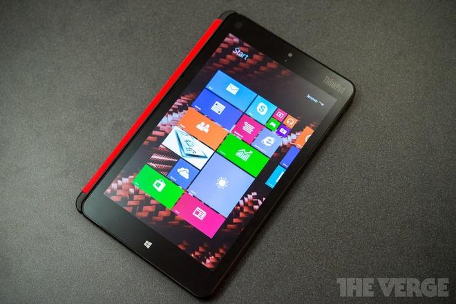 Lenovo cong bo ThinkPad 8 chay chip loi tu va co cong HDMI hinh anh