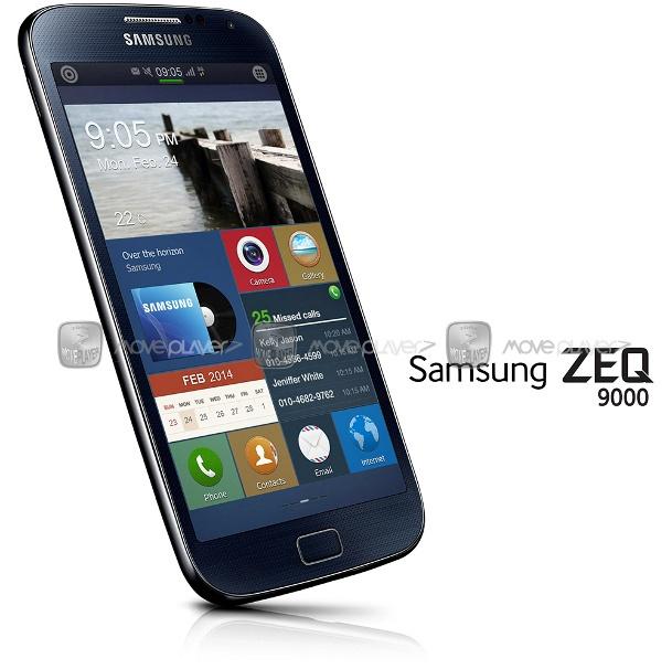 Lo anh dien thoai chay he dieu hanh Tizen OS cua Samsung hinh anh