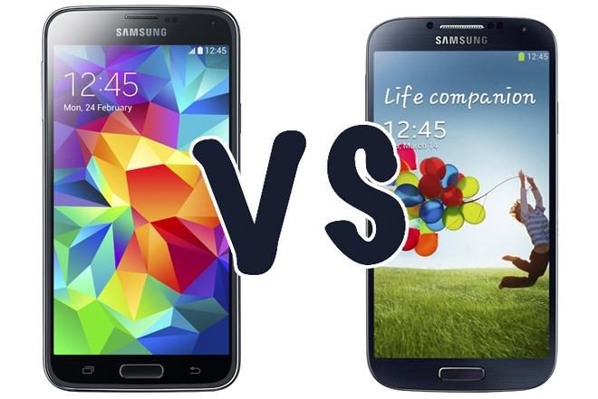 Galaxy S5 khac gi so voi Galaxy S4 hinh anh 1