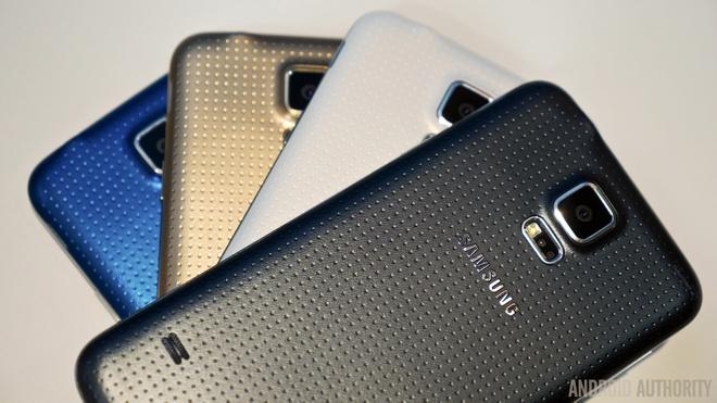 Anh thuc te 4 mau sac cua Galaxy S5 hinh anh