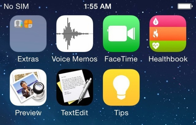 Anh giao dien iOS 8 ro ri hinh anh 2