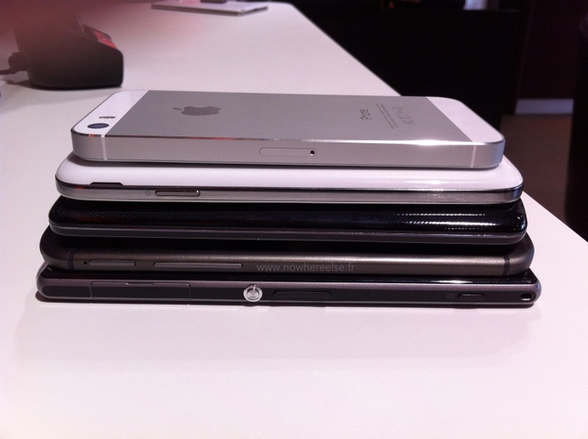 HTC One 2 do dang cung iPhone 5S, Galaxy S4 va LG G2 hinh anh 5