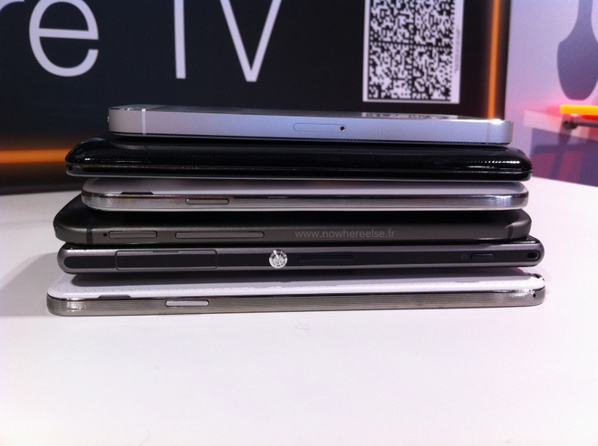 HTC One 2 do dang cung iPhone 5S, Galaxy S4 va LG G2 hinh anh 6