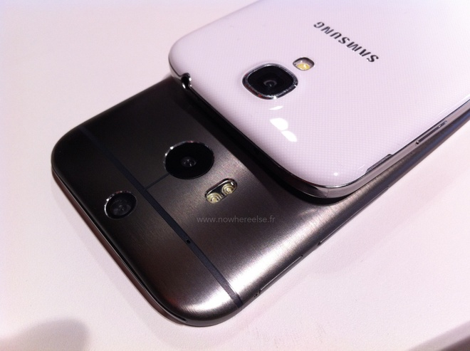 HTC One 2 do dang cung iPhone 5S, Galaxy S4 va LG G2 hinh anh 9