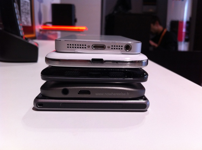HTC One 2 do dang cung iPhone 5S, Galaxy S4 va LG G2 hinh anh 4