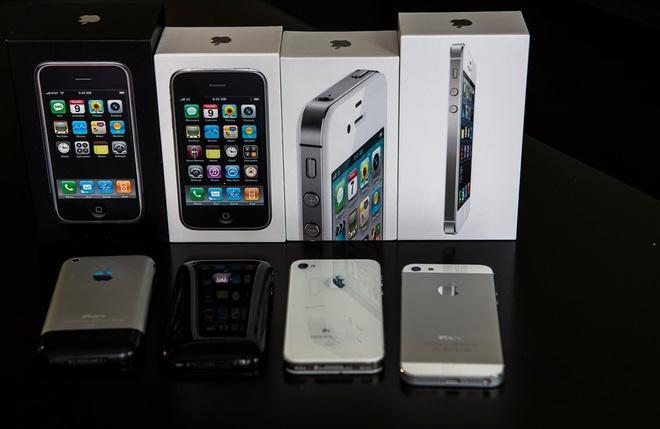 Apple da ban duoc 500 trieu chiec iPhone hinh anh 1 Doanh số iPhone đã chạm mốc nửa tỷ chiếc. Ảnh: Flickr.