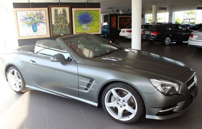Mercedes-Benz SL 2014 gia hon 5 ty dau tien ve VN hinh anh